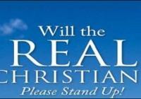 real-christian