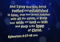 Eph 3:17-18